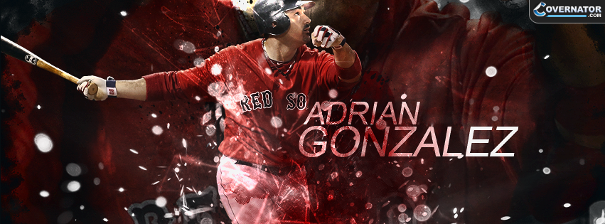 Adrian Gonzalez Facebook Cover