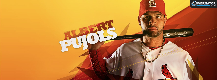 Albert Pujols Facebook Cover