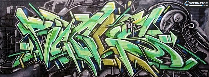 Alien Graffiti Facebook Cover