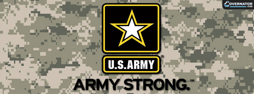 US ARMY STRONG Facebook cover
