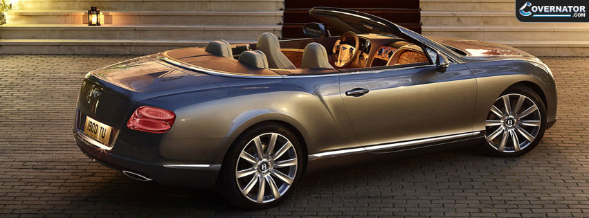 bentley continetal gtc Facebook cover