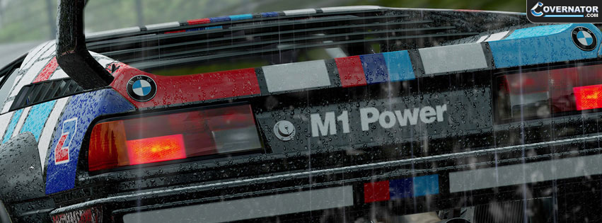 Bmw m1 Power Facebook Cover