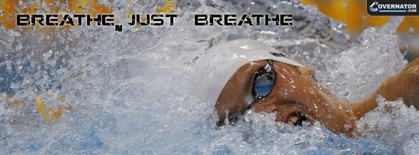 breathe, just breathe Facebook cover