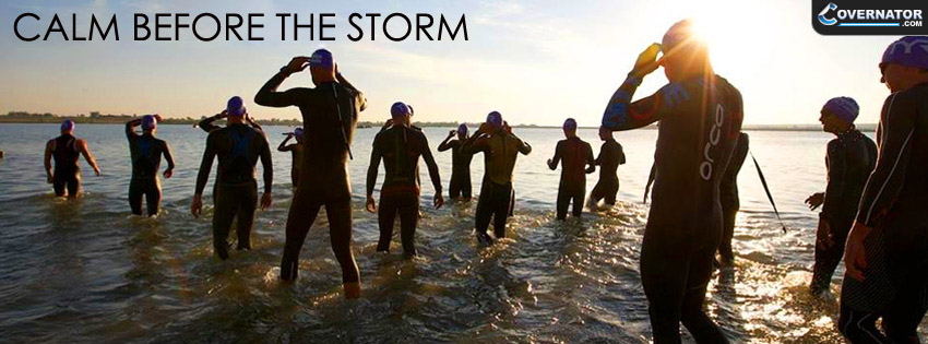 Calm Before The Storm Facebook cover