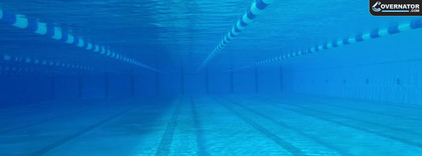 Calm Underwater Pool Facebook Cover
