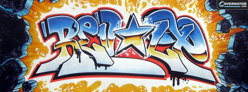 DrRevolt Graffiti Facebook cover