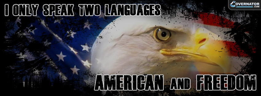 I Only Speak Two Languages... Facebook Cover