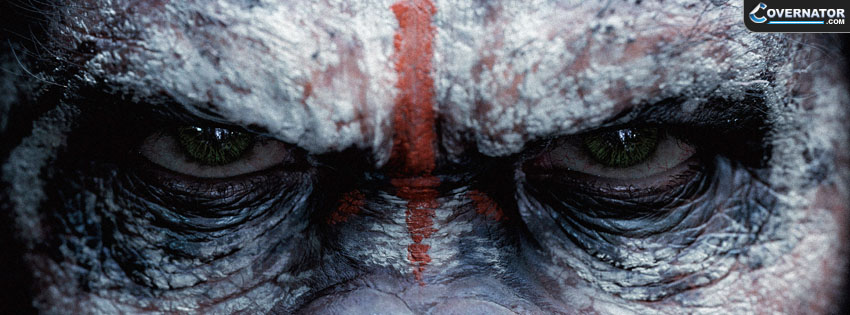 Dawn Of The Planet Of The Apes Ceasar Facebook Cover