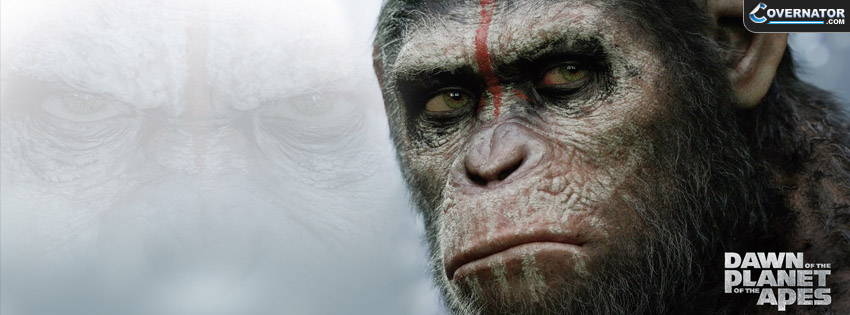 Dawn Of The Planet Of The Apes Cover Facebook Cover