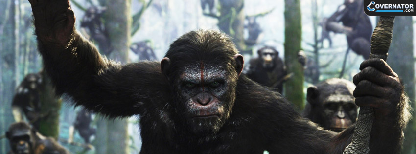Dawn Of The Planet Of The Apes Facebook covers