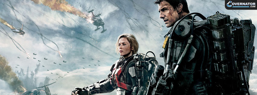 Edge of Tommorow Facebook cover