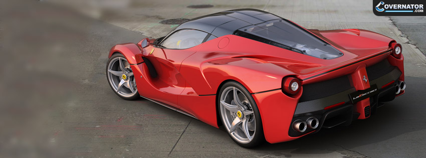 Ferrari Laferrari Facebook cover