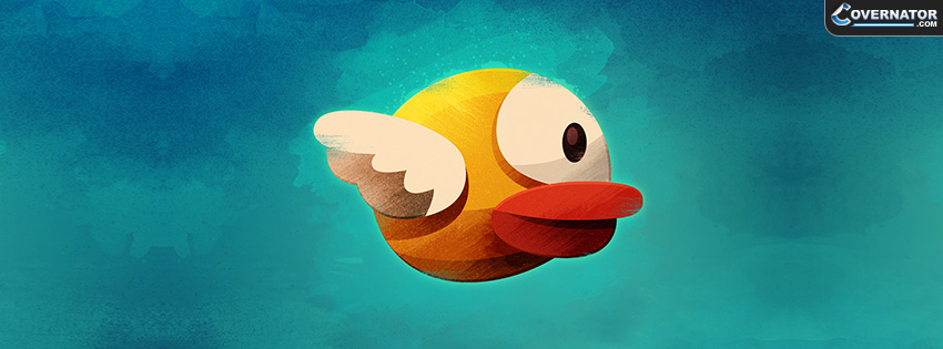 Flappy Bird Facebook cover
