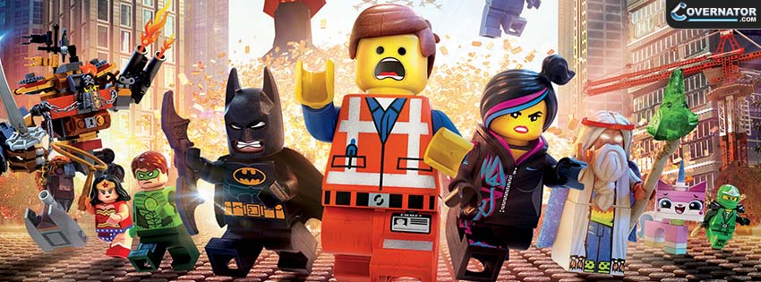 Lego The Movie Facebook Cover