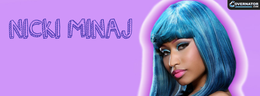 Nicki Minaj Facebook cover