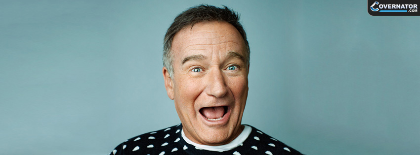 Robin Williams R.I.P. Facebook cover