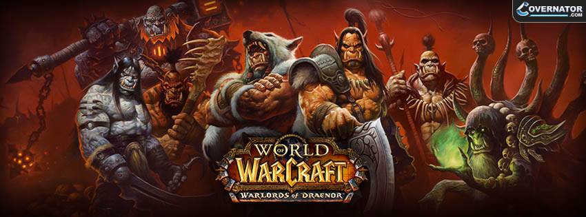 Warlords Of Draenor Facebook Cover