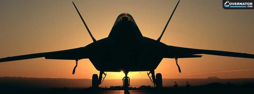 F-22 Raptor Facebook Cover