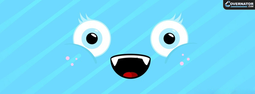 Cute Face Facebook Cover