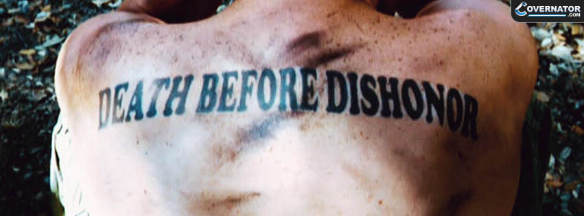 death before dishonor Facebook cover