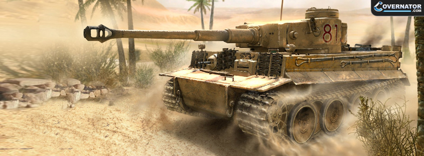 desert tiger Facebook cover