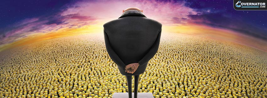 Despicable Me 2 Facebook Cover