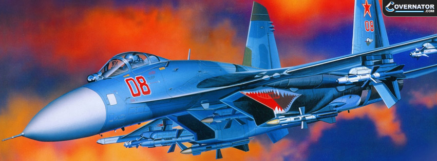 Sukhoi Su-27 Facebook cover