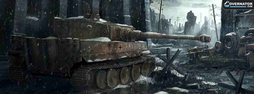 Tiger Tank Facebook Cover