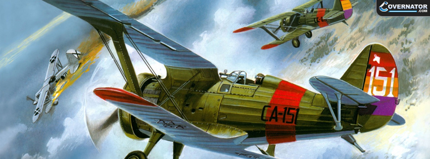 Polikarpov I-15 Facebook Cover