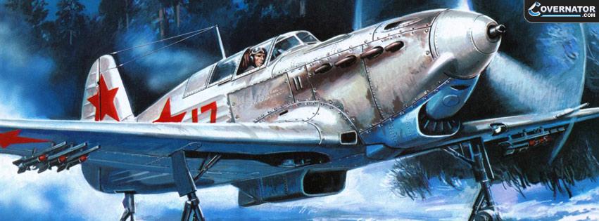 Yakovlev Yak-7 Facebook Cover