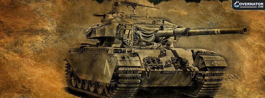 Centurion tank Facebook cover