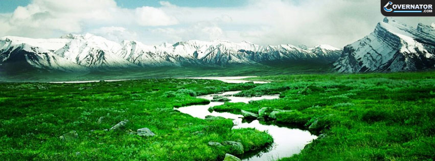 Beautifull River Facebook Cover