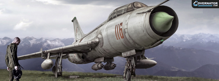 Sukhoi SU-7 Facebook Cover