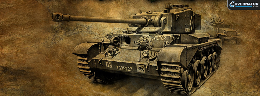 British Comet Tank Facebook Cover