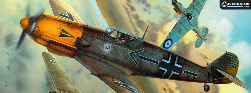 Messerschmitt Bf 109 Facebook cover