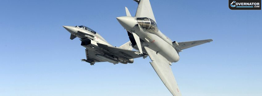 Eurofighter EF-2000 Typhoon Facebook cover