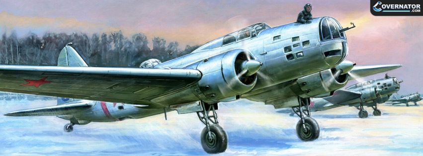 Ilyushin DB-3 Facebook Cover