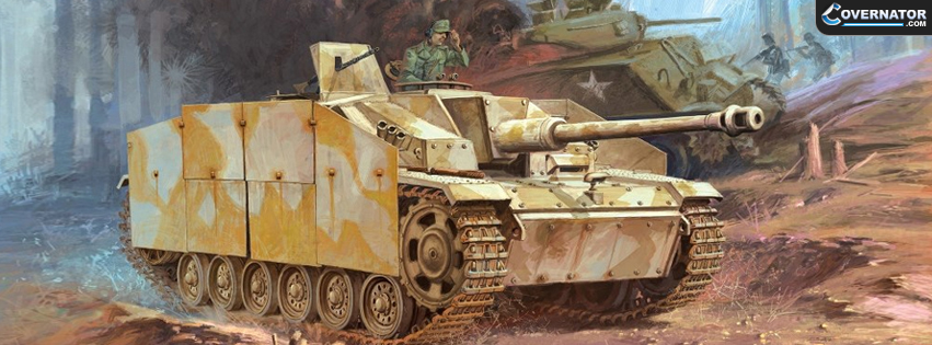 StuG III assault gun Facebook cover