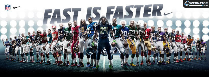 Fast is faster Facebook cover
