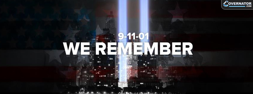 9-11-01 We Remember Facebook Cover
