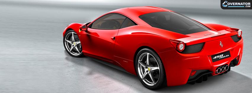 Ferrari 458 Italia Facebook Cover