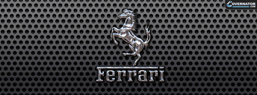ferrari logo Facebook cover