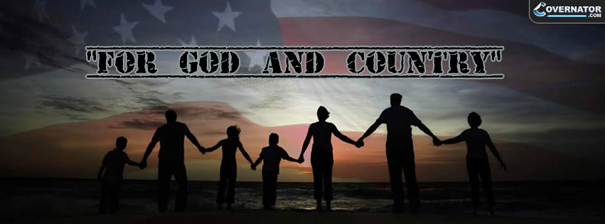 For God And Country Facebook Cover