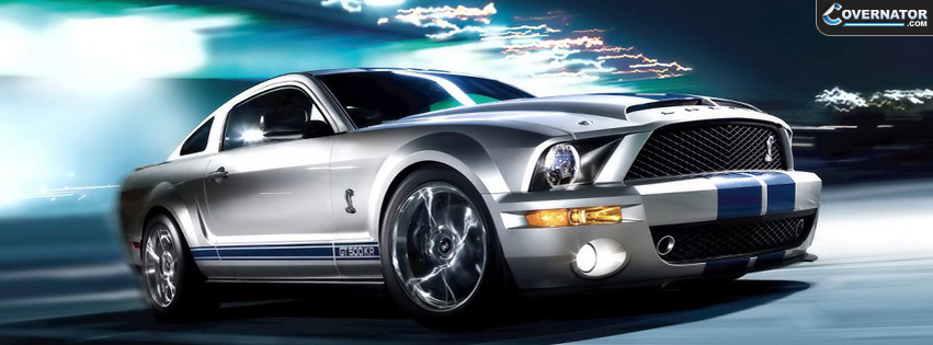 Ford Mustang Shelby gt500 Facebook Cover