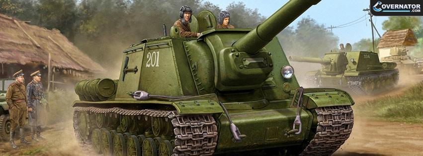 SU-152 Facebook cover