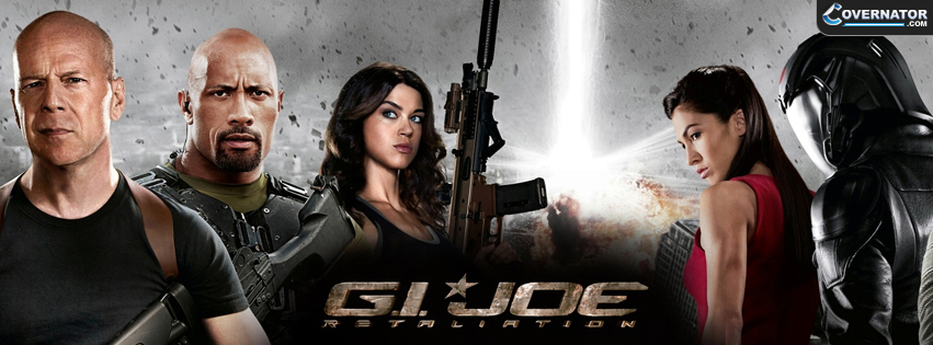 G.I. Joe: Retaliation Facebook cover
