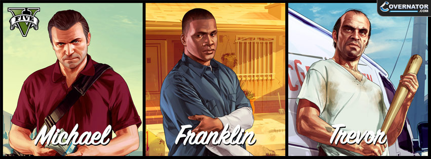 Michel, Franklin, Trevor Facebook cover