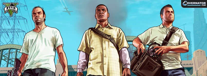 GTA FIVE Facebook cover
