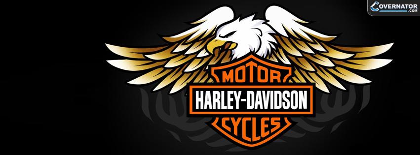 harley davidson logo Facebook cover