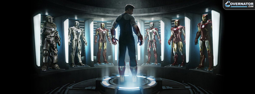 Iron Man 3 Facebook Cover